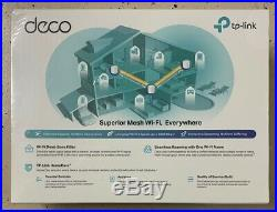 3 Pack TP-Link Deco X60 WiFi 6 AX3000 Whole Home Mesh Wi-Fi System