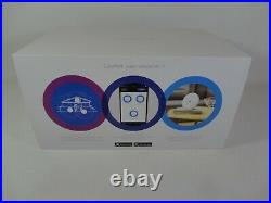 3 x BT Whole Home Wi-Fi Add-On Discs White Mesh 088269 Extend Internet Network
