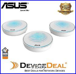 ASUS Lyra AC2200 Tri-Band Whole-Home Wi-Fi System Mesh Network 3 Pack