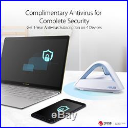 ASUS Lyra Trio 3 Packs Home Mesh WiFi System AC1750 Compatible with Amazon by