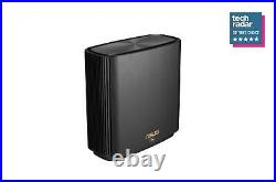 Asus ZenWiFi AX (XT8) AX6600 Whole Home Mesh WiFi 6 System Black (1-Pack)