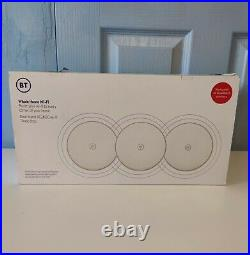 BT Whole Home Wi-Fi Pack of 3 Discs Dual Band AC2600 Mesh Wi-Fi