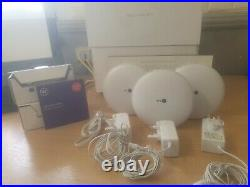 BT Whole Home Wi-Fi, Pack of 3 Discs, Mesh Wi-Fi for seamless, speedy (AC2600) c