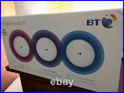 BT Whole Home Wifi 3 Discs set Boxed, little used Full AC MESH WiFi system