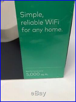 EERO Mesh WiFi Network System Router 3-Pack Whole Home Coverage NEW J010311 3