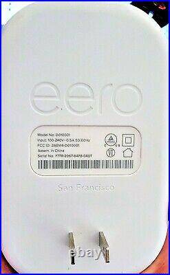 EERO PRO B010301 2nd Generation Home Wi-Fi Mesh System with 2 Beacons