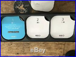 Eero 1st Generation Whole Home Mesh Wifi System White 3 Pack (Pre-owned)