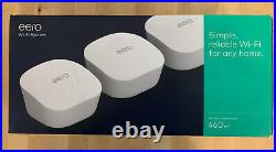 Eero Mesh Dual-Band Home Wi-Fi System White (3-Pack) Free Delivery