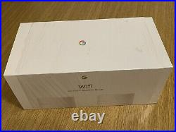 Google Mesh Wi-Fi Whole Home System Network Router Twin Pack White UK Power Plug