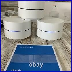 Google Wifi Whole Home Dual-Band Mesh Wi-Fi System 3 Pack
