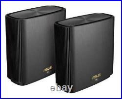 (Grade A) ASUS ZenWiFi AX Whole-Home Tri-Band Mesh WiFi 6 System (XT8) 3 SSIDs