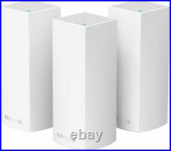 LINKSYS Velop Whole Home WiFi Mesh System Network Router Triple Pack Currys