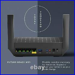 Linksys AX1800 Smart Mesh Wi-Fi 6 Router for Home Mesh Networking, MU-MIMO Dual