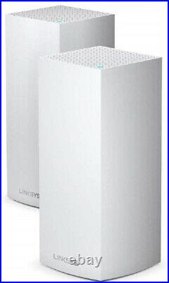 Linksys MX8400 Velop Tri-Band Whole Home Mesh WiFi 6 System (AX4200) WiFi Router