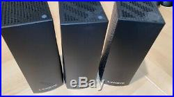 Linksys Velop Mesh Router 3 pack black Tri-Band Home Mesh WiFi System
