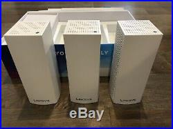 Linksys Velop Tri-Band AC6600 Whole Home WiFi Mesh System 3-Pack (6000 SQ FT)
