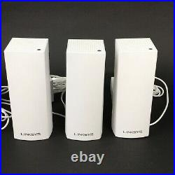Linksys Velop Tri-Band Whole Home Mesh Wi-fi System WHW03 Set of 3