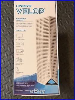 Linksys Velop Tri-band Whole Home WiFi Mesh System, 3-Pack