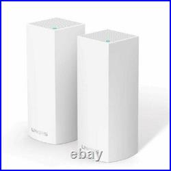 Linksys Velop Whole Home Mesh Intelligent Wi-Fi Dual-Band (x 2) WHW0102-UK