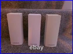 Linksys Velop Whole Home Mesh Wi-Fi System Tri Band x3 inc power supplies