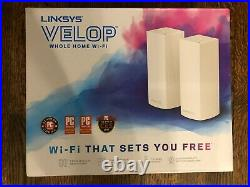 Linksys Velop Whole Home Mesh WiFi System TriBand 2 Nodes
