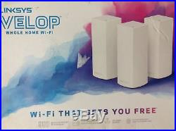Linksys Velop Wireless AC6600 Tri-Band Mesh Whole Home Wi-Fi System WHW0303
