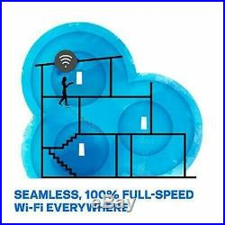 Linksys WHW0302-UK Velop Tri-Band AC4400 Intelligent Whole Home Mesh Wi-Fi Syste