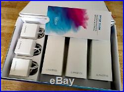 Linksys WHW0303-UK Velop Tri-Band AC6600 Intelligent Whole Home Mesh Wi-Fi Syste