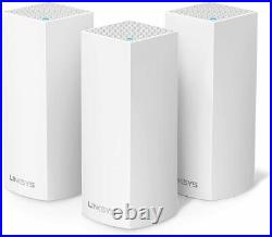 Linksys WHW0303 Velop Tri-Band Whole Home Mesh Wi-Fi System(AC6600 Wi-Fi Router)
