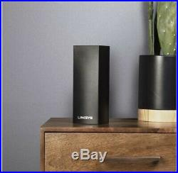 Linksys WHW0303B-UK Velop Tri-Band AC6600 Whole Home Mesh Wi-Fi System Pack Of 3