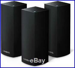 Linksys WHW0303B Velop Tri-Band Whole Home Mesh Wi-Fi System AC6600 Pack of 3