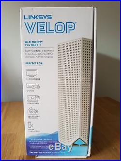 Linksys Whw0303-uk Velop Whole Home Mesh Wi-fi System Whw0303 Wireless Rout