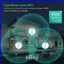 MeshForce Whole Home Mesh WiFi System (3 Pack), Dual Band AC1200 Router