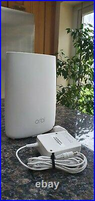 NETGEAR ORBI RBS50 Home Mesh WiFi Satellite AC3000 Up To3Gbps Adds 2,000 sq ft