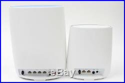 NETGEAR Orbi Built-in-Modem Whole Home Mesh WiFi System with all-in-one cable