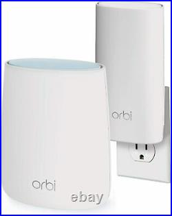NETGEAR Orbi Compact Wall-Plug Whole Home Mesh WiFi System router and extender
