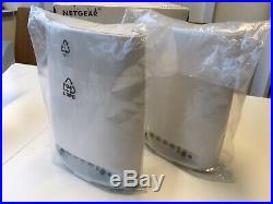 NETGEAR Orbi RBK50 Whole Home WiFi Mesh System Twin Pack (Router & Satellite)