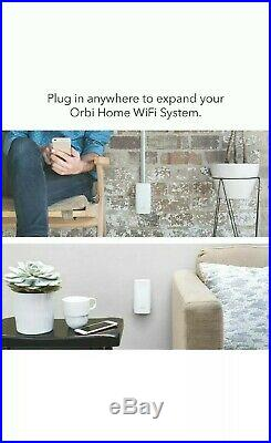 NETGEAR Orbi Ultra-Performance Whole Home Mesh WiFi System Pack of 3 RBK50+RBW30