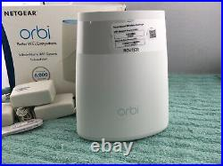 NETGEAR Orbi Whole Home Mesh WiFi System 3 Pack Routers (RBK43) USED