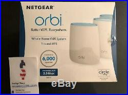 NETGEAR Orbi Whole Home Mesh WiFi System Router + Extenders RBK23-100NAS NEW