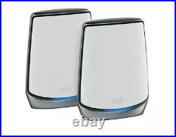NETGEAR Orbi Whole Home Tri-Band Mesh WiFi 6 System (RBK852) Router with 1 Sat
