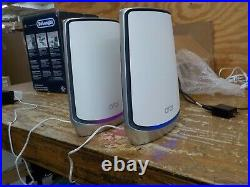 NETGEAR Orbi Whole Home Tri-band Mesh WiFi 6 System (RBK850) Router with 1 Sat