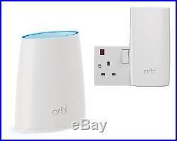 NETGEAR RBK30 Orbi Whole Home Mesh Wi-Fi System (Up to 3000 sq ft Coverage)