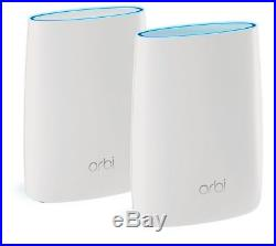 NETGEAR RBK50 Orbi Whole Home Mesh Wi-Fi System Up To 4000 Sq Ft Coverage new