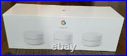 NEW 2020 version, 3-pack Google Wifi AC1200 Dual-Band Mesh Wi-Fi Router