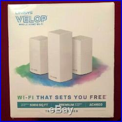 -NEW -Linksys Velop Mesh Whole Home Wi Fi AC4600 #206x