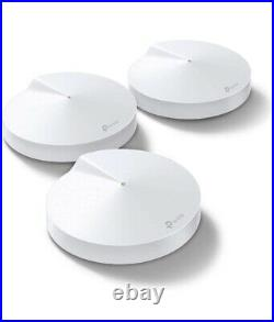 NEW! TP-Link DECO M9 PLUS 3-PACK AC2200 Smart Home Mesh Wi-Fi System