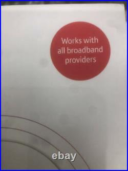 New BT Whole Home Wi-Fi, Pack of 3 Discs, Mesh Wi-Fi Hub Extender White AC2600