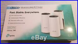 TP-LINK Deco M4 Whole-Home Mesh WiFi System (Dual-Band), 3 Pack