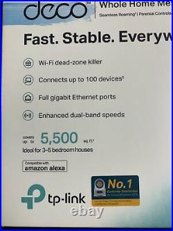TP-LINK Deco S4 (3-pack) AC1200 Whole Home Mesh Wi-Fi System